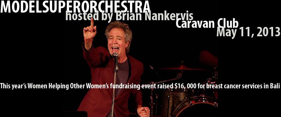 WHOW fundraiser, Modelsuperorchestra, Caravan Club